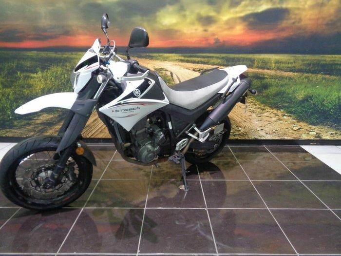 2009 Yamaha XT660X White