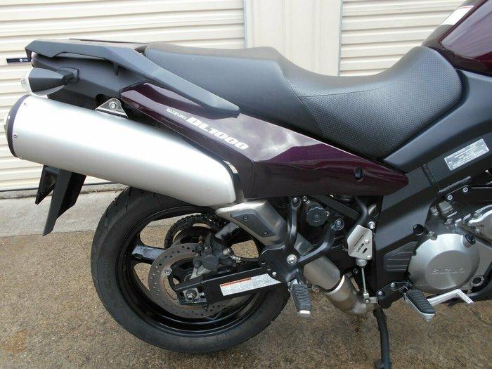 2009 Suzuki DL1000 V-STROM CHERRY