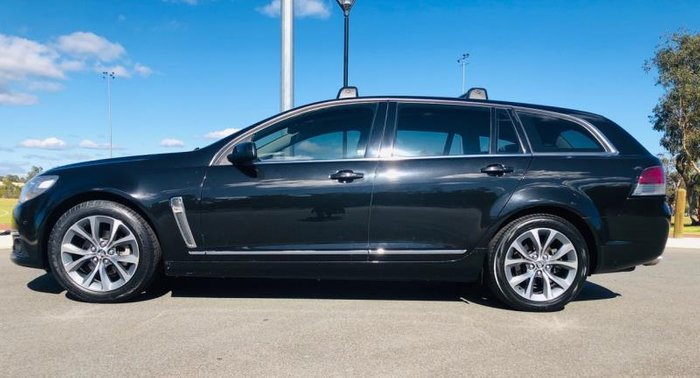 2013 HOLDEN CALAIS V VF BLACK
