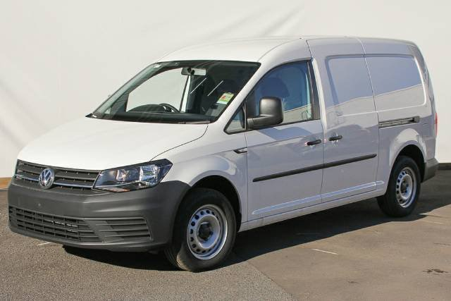 2019 Volkswagen Caddy TDI250 2KN MY19 CANDY WHITE