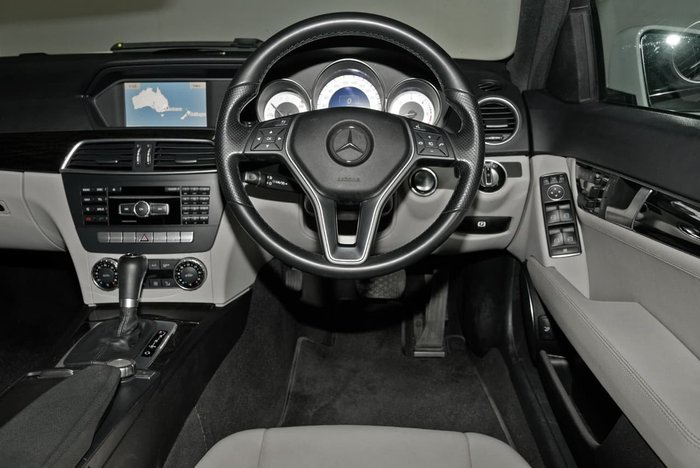 2013 Mercedes-Benz C250 CDI Avantgarde W204 MY13 White
