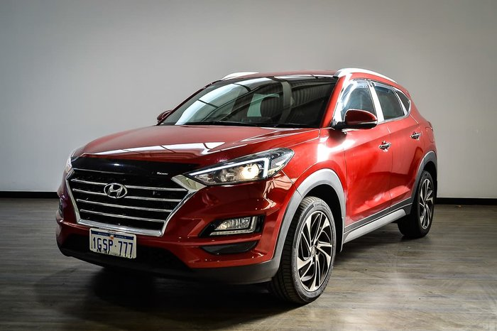 2018 Hyundai Tucson Special Edition TLe3 MY19 4X4 On Demand Red
