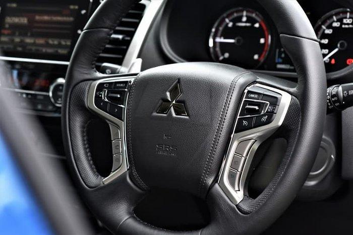 2018 Mitsubishi Triton GLS MR MY19 4X4 Dual Range Blue