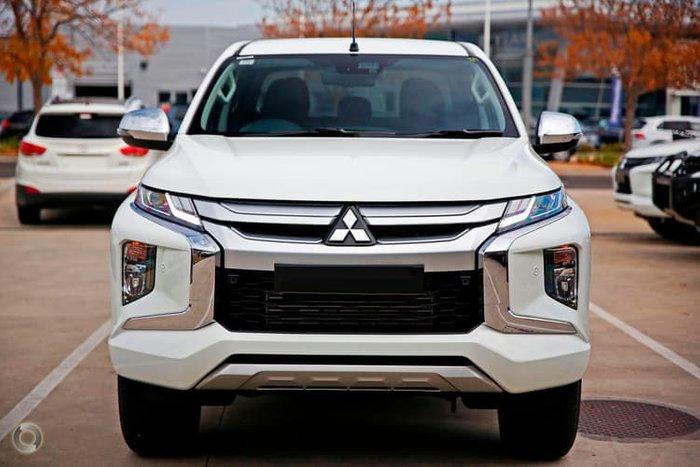 2018 Mitsubishi Triton GLS MR MY19 4X4 Dual Range White