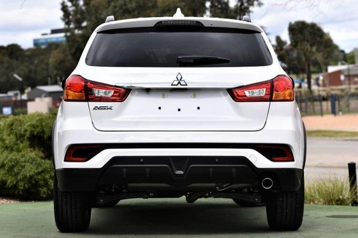 2018 Mitsubishi ASX Black Edition XC MY19 White