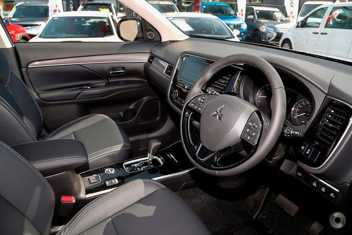 2018 Mitsubishi Outlander Exceed ZL MY19 4X4 On Demand Grey