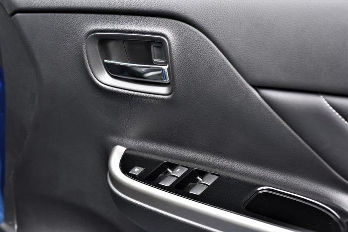 2018 Mitsubishi Triton GLS Premium MR MY19 4X4 Dual Range Blue