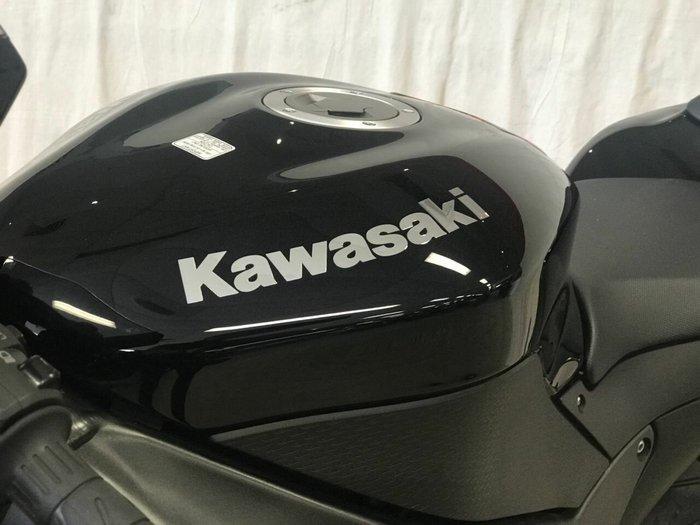 2008 Kawasaki ZX-6R (ZX636) NINJA Black
