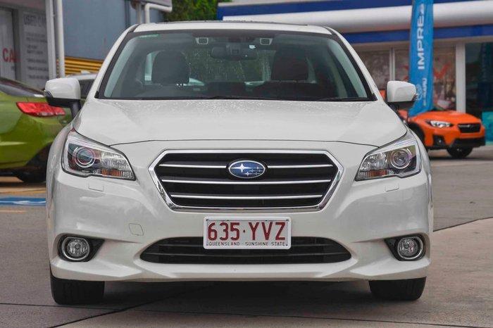 2016 Subaru Liberty 3.6R 6GEN MY17 Four Wheel Drive White