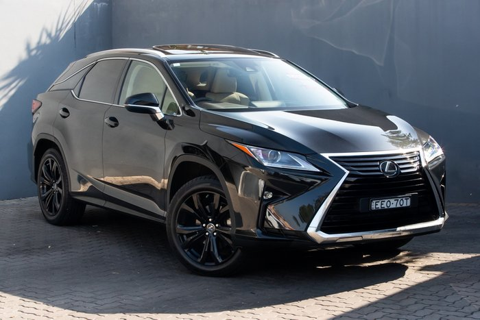 2018 Lexus RX RX350 Crafted Edition GGL25R 4X4 On Demand GRAPHITE BLACK