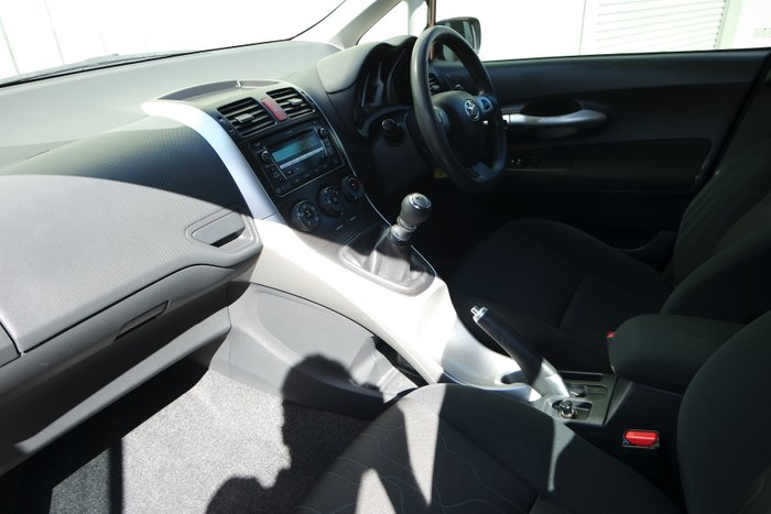 2010 Toyota Corolla ZRE152R RED