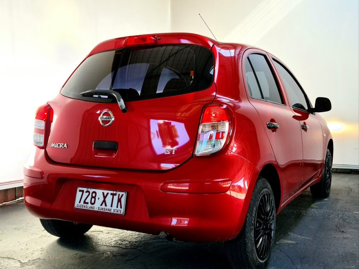 2014 Nissan Micra K13 MY13 RED