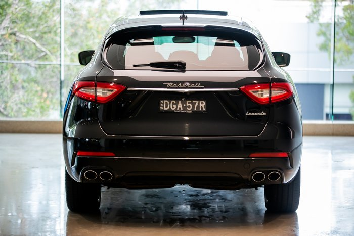 2017 Maserati Levante Sport M161 MY17 4X4 On Demand Nero Ribelle (Mica)