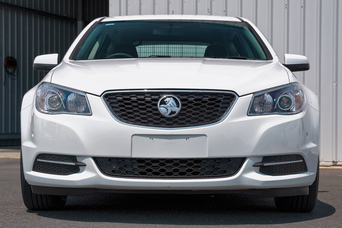 2015 Holden Commodore Evoke VF MY15 HERON WHITE