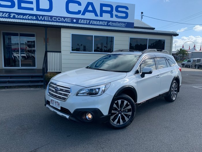 2017 Subaru Outback 2.5i Premium 5GEN MY17 Four Wheel Drive WHITE