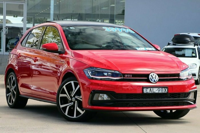 2018 Volkswagen Polo GTI AW MY18 RED