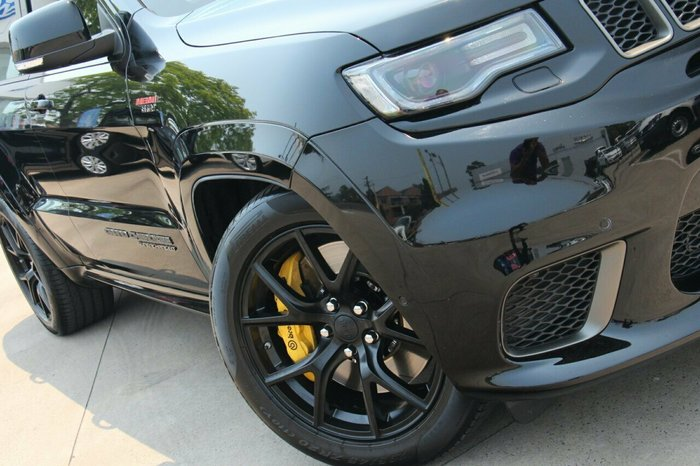2018 Jeep Grand Cherokee Trackhawk WK MY18 4X4 On Demand Diamond Black Crystal Pearl