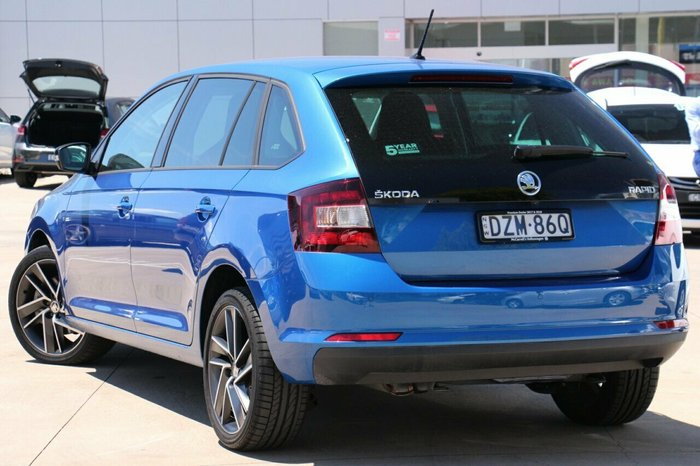2018 SKODA Rapid NH MY19 BLUE
