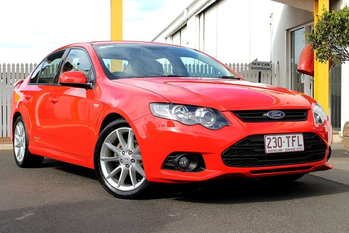 2013 Ford Falcon Ute XR6 FG MkII RED