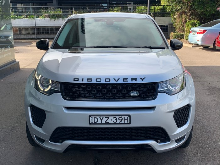2018 Land Rover Discovery Sport Si4 177kW SE L550 MY18 4X4 Constant SILVER