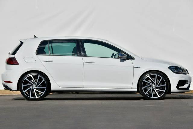 2017 Volkswagen Golf R 7.5 MY18 Four Wheel Drive PURE WHITE