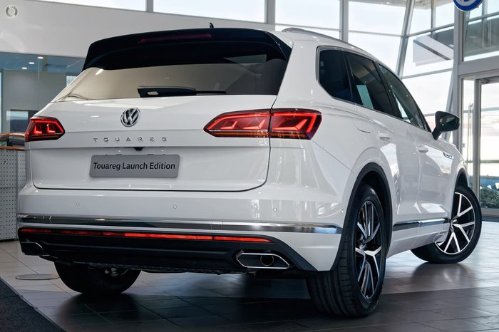 2019 Volkswagen Touareg 190TDI Launch Edition CR MY19 Four Wheel Drive White