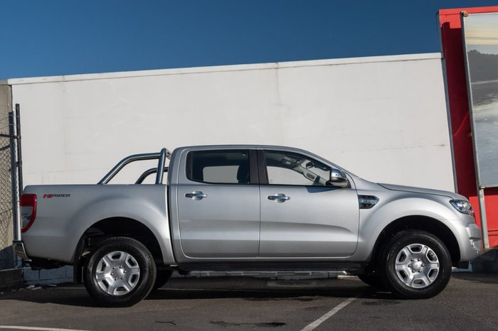 2018 Ford Ranger XLT Hi-Rider PX MkII MY18 Silver