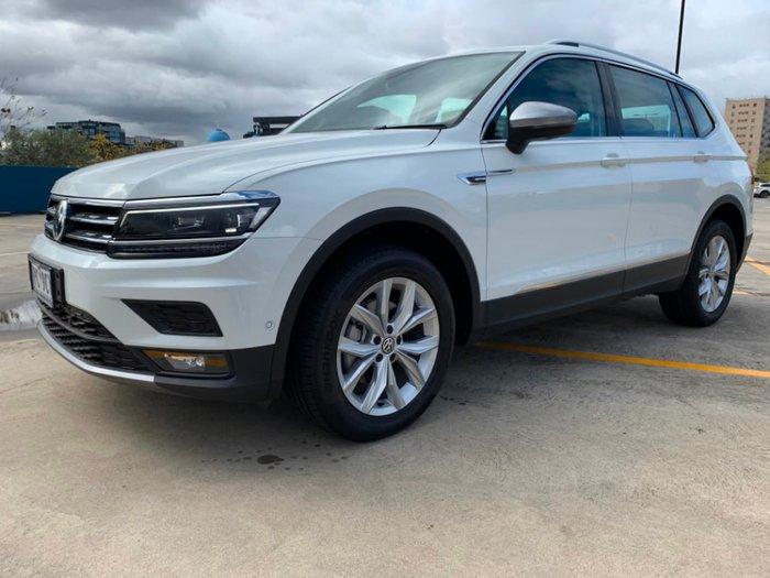 2018 Volkswagen Tiguan 110TDI Comfortline Allspace 5N MY18 Four Wheel Drive White