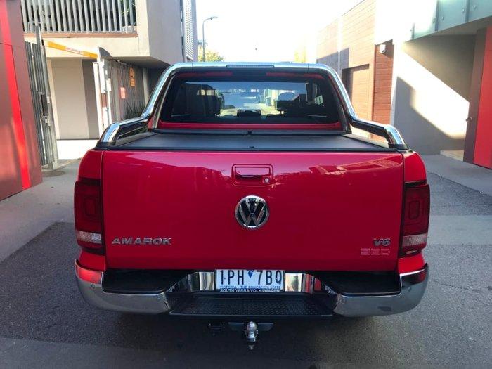 2018 Volkswagen Amarok TDI580 Ultimate 2H MY18 4X4 Constant Red