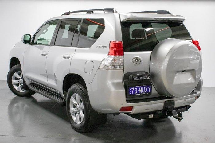2013 Toyota Landcruiser Prado Altitude KDJ150R 4X4 Constant Silver