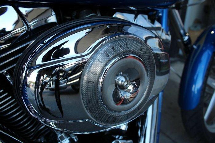 2008 Harley-davidson FXCWC ROCKER CUSTOM Pacific Blue Prl