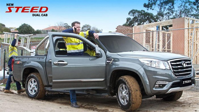 2019 Great Wall Steed NBP 4X4 PURE WHITE