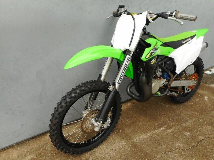 2018 Kawasaki KX85 Green