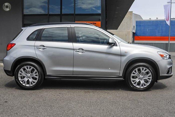 2018 Mitsubishi ASX ES XC MY19 Silver