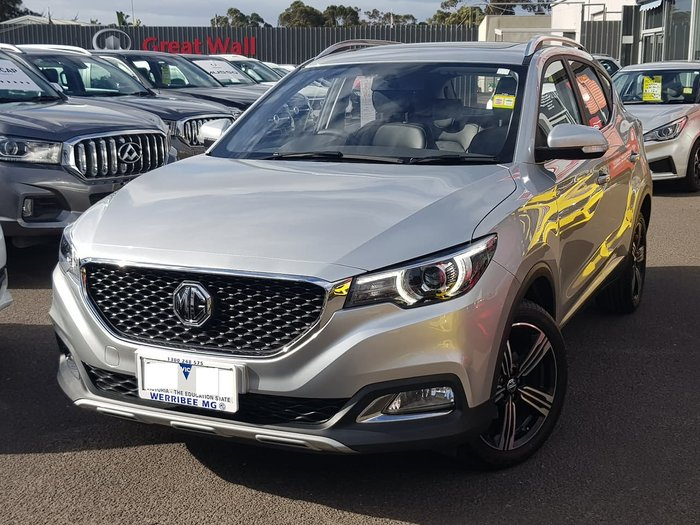 2019 MG ZS Essence AZS1 MY19 Silver