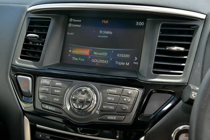 2018 Nissan Pathfinder ST-L R52 Series II MY17 4X4 On Demand BRILLIANT SILVER