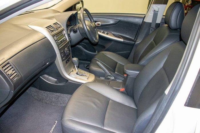 2008 Toyota Corolla Ultima ZRE152R White
