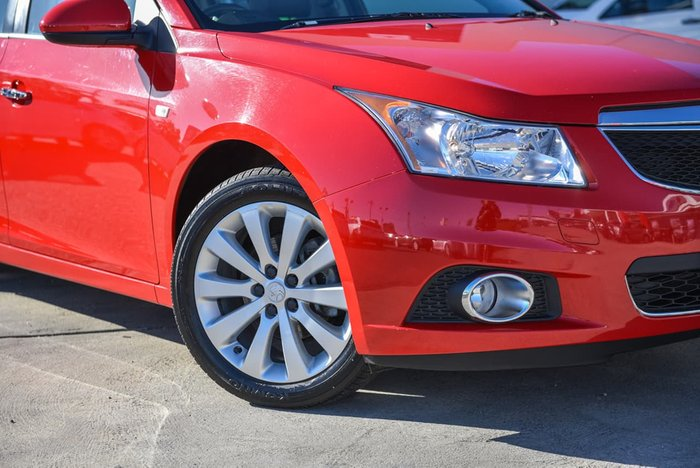 2013 Holden Cruze CDX JH Series II MY13 Red