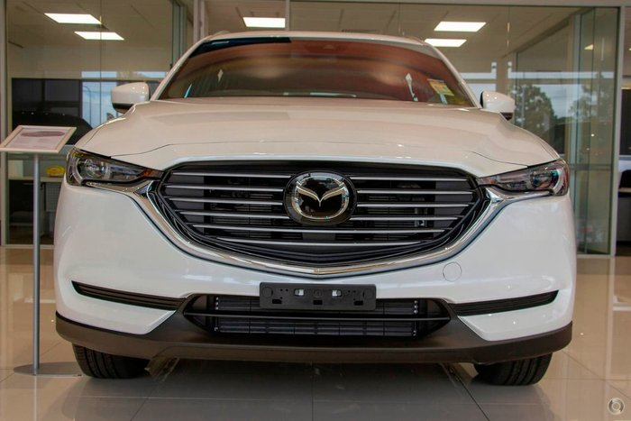 2018 Mazda CX-8 Sport KG Series White