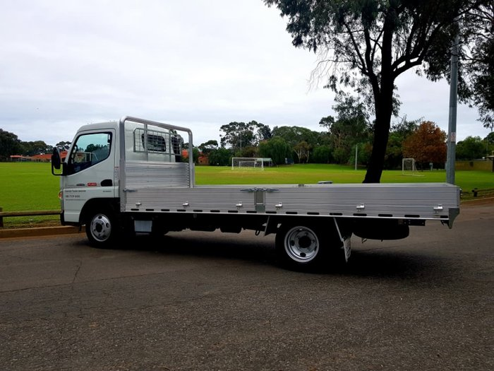 2017 FUSO CANTER 515 AMT CITY 3 SEAT 4.5M D/SIDE ALLOY TRAY READY NOW! null null null