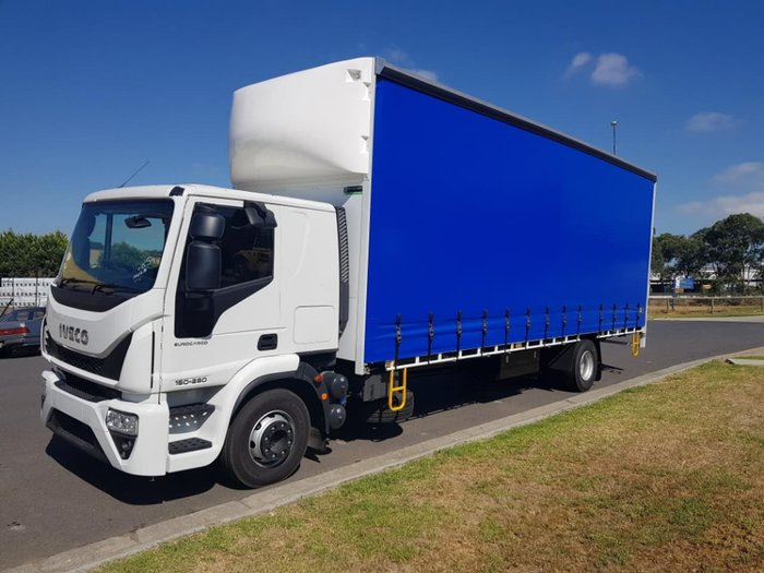 2019 IVECO EUROCARGO ML160 AUTO 12 PALLET TAUTLINER null null White