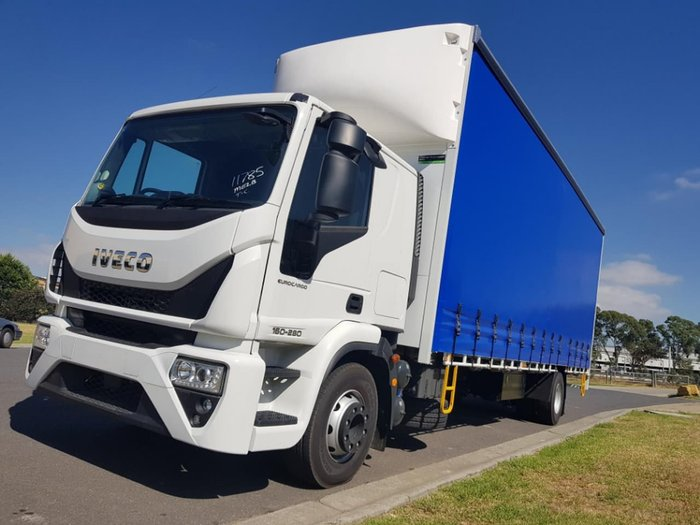 2020 IVECO EUROCARGO ML160 AUTO 12 PALLET TAUTLINER null null White