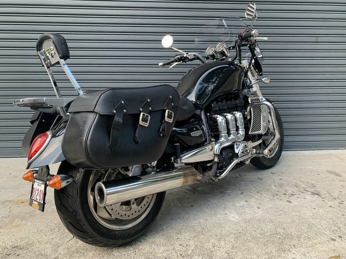 2009 Triumph ROCKET III Black