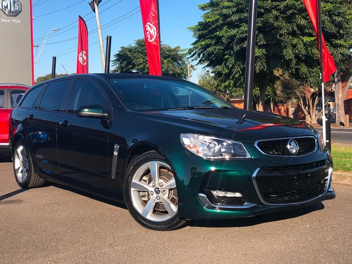 2015 Holden Commodore SS VF Series II MY16 Green