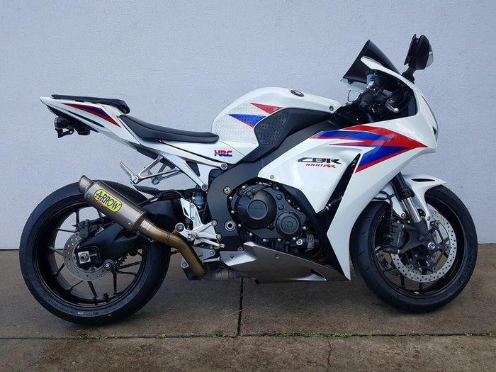 2012 Honda CBR1000RR (FIREBLADE) White
