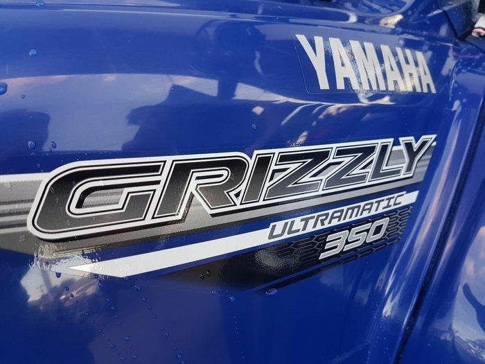 2016 Yamaha YFM350A GRIZZLY 350 Blue