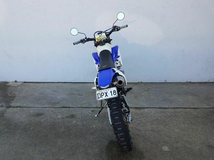 2012 Yamaha WR450F White