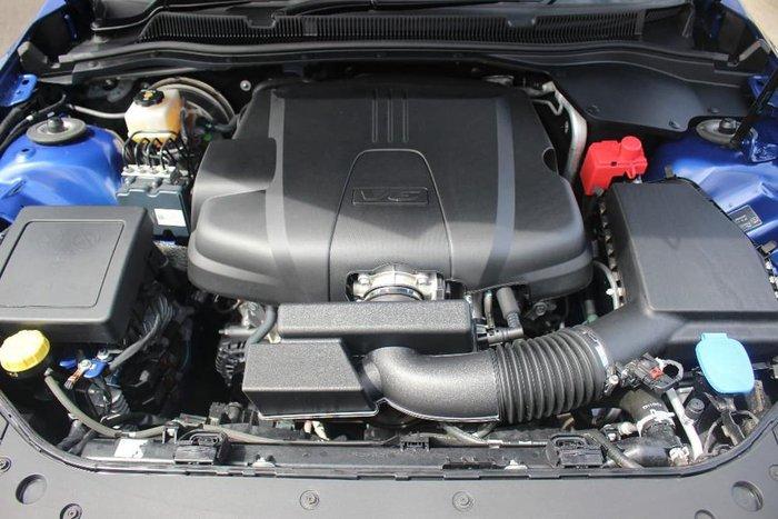 2017 Holden Commodore SV6 VF Series II MY17 Blue