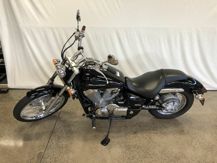 2008 Honda VT750C SHADOW Black