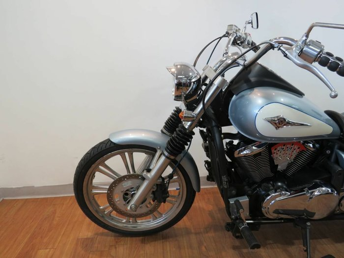 2009 Kawasaki VULCAN 900 (VN900) CLASSIC BLUE/WHITE